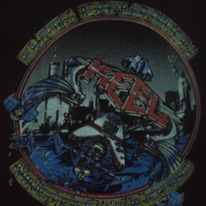 VINTAGE 1986 KEEL JAPAN TOUR RARE