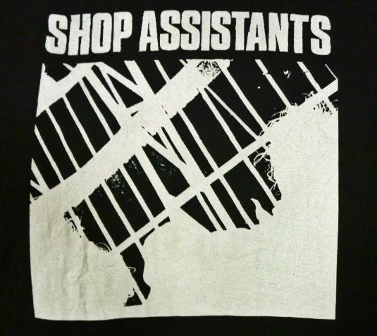 VINTAGE 1986 SHOP ASSISTANTS T-SHIRT