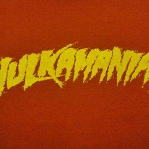 VINTAGE HULKMANIA WWF