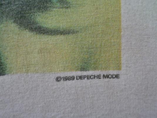 VINTAGE 1989 DEPECHE MODE T-SHIRT