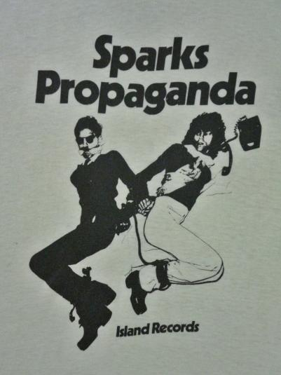 MEGA RARE 1974 SPARKS T-SHIRT