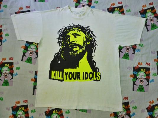 VINTAGE KILL YOUR IDOLS T-SHIRT AS WORN BY AXL ROSE