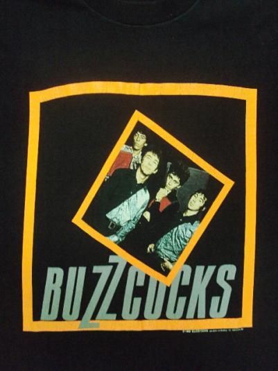 VINTAGE 1989 THE BUZZCOCKS T-SHIRT