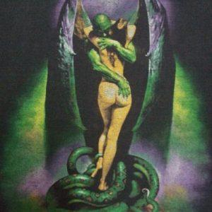 VINTAGE 1986 BORIS VALLEJO FANTASY METAL ASS T SHIRT