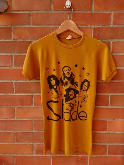 VINTAGE 1970s SLADE T-SHIRT
