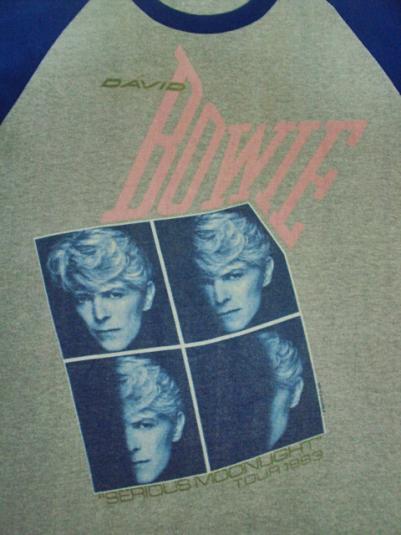 1983 DAVID BOWIESERIOUS MOONLIGHT USA TOUR