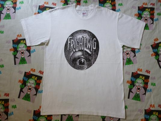 VINTAGE EARLY 90S FRIGHTWIG T-SHIRT