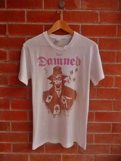 VINTAGE 80S THE DAMNED T-SHIRT