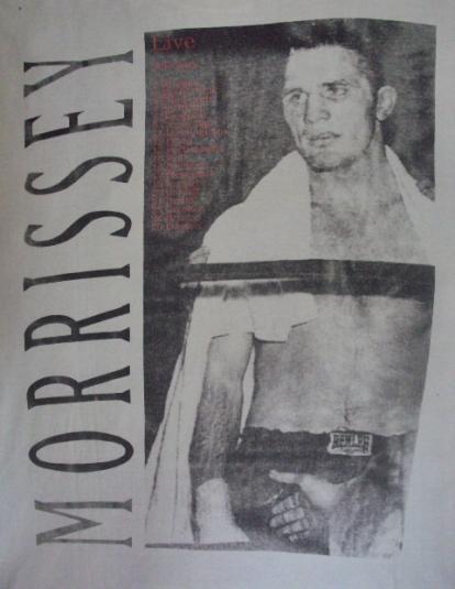 VINTAGE 1995 MORRISSEY BOXERS TOUR T-SHIRT