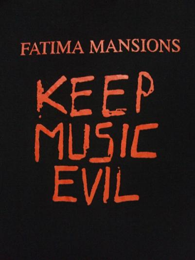 VINTAGE 1991 THE FATIMA MANSIONS T-SHIRT