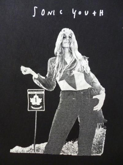 VINTAGE SONIC YOUTH HITCHIKER T-SHIRT