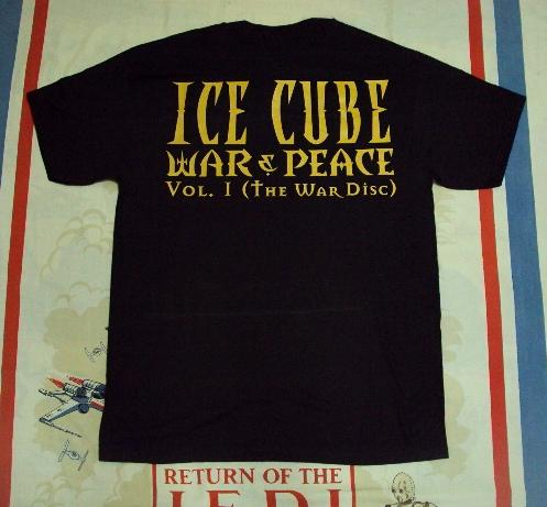"VINTAGE ICE CUBE 'WAR & PEACE"" PROMO"