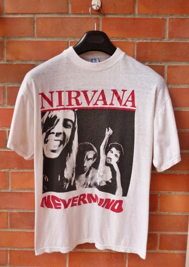 VINTAGE 1991 NIRVANA NEVERMIND T-SHIRT