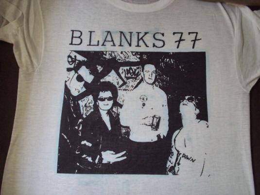 VINTAGE BLANKS 77 1990 T-SHIRT