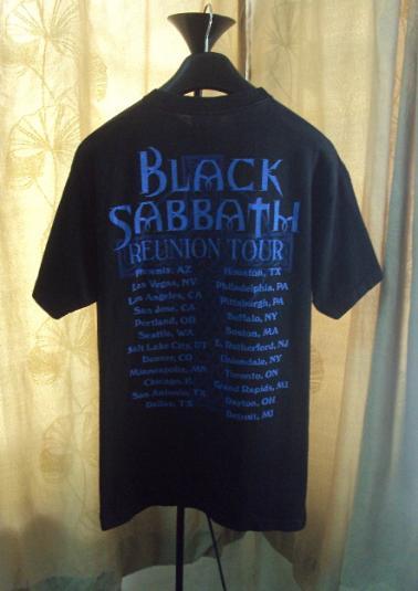 VINTAGE BLACK SABBATH REUNION TOUR T-SHIRT