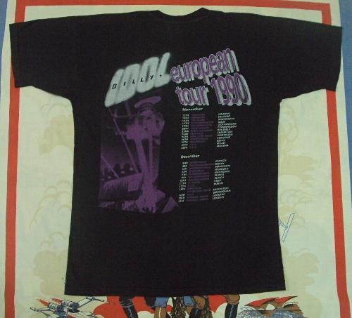 VINTAGE BILLY IDOL 1990 EUROPEAN TOUR
