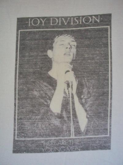 """1982 JOY DIVISION """"HERE ARE THE YOUNG MEN"""" PROMO"""