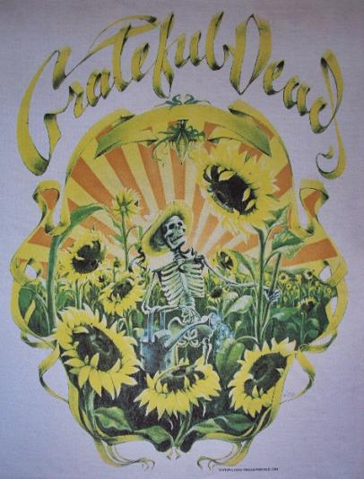 VINTAGE EARLY 90'S GRATEFUL DEAD T-SHIRT
