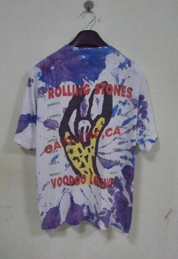 VINTAGE 1994 THE ROLLING STONES TOUR T-SHIRT