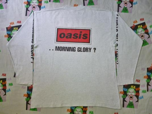 VINTAGE 90S OASIS WHAT'S THE STORY MORNING GLORY T-SHIRT