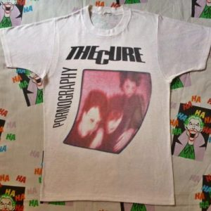 1982 THE CURE PORNOGRAPHY T-SHIRT