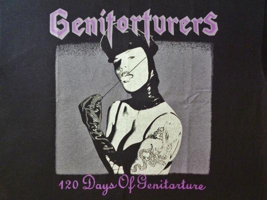 VINTAGE GENITORTURES 120 DAYS T-SHIRT