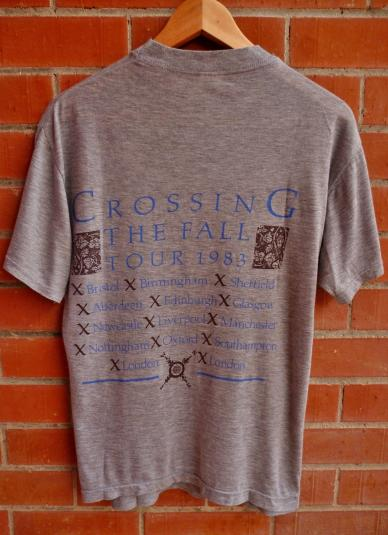 Vintage 1983 BIG COUNTRY Crossing the fall T-Shirt