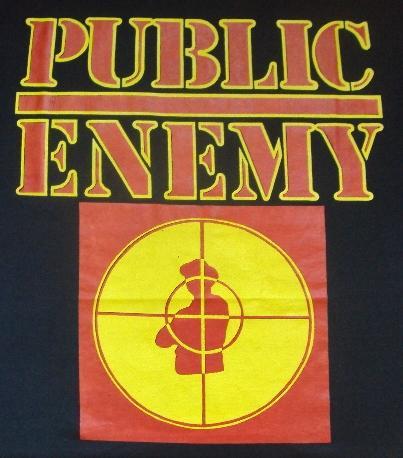 VINTAGE 1980'S PUBLIC ENEMY