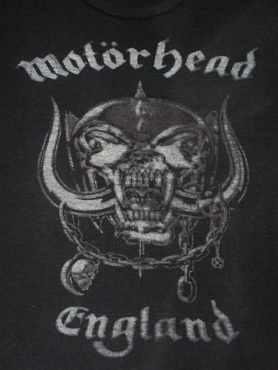 VINTAGE 1977 MOTORHEAD T-SHIRT