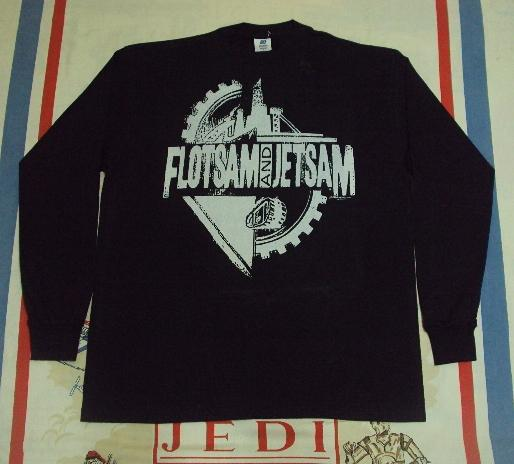 VINTAGE FLOTSAM & JETSAM Longsleeves Promo 1992