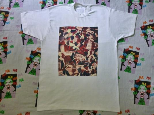 VINTAGE 1990 THE STONE ROSES ONE LOVE T-SHIRT