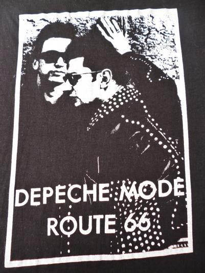VINTAGE 1987 DEPECHE MODE ROUTE 66 T-SHIRT