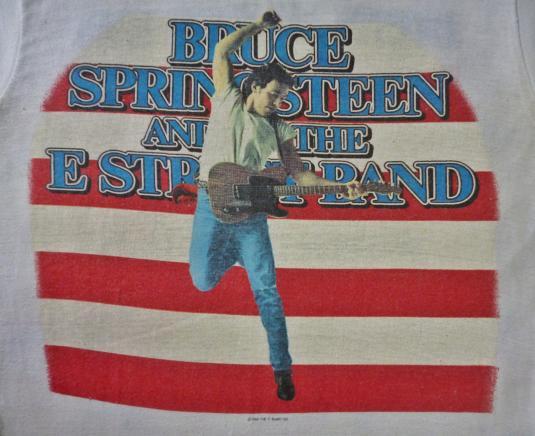 VINTAGE 1984 BRUCE SPRINGSTEEN T-SHIRT
