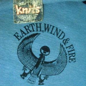 VINTAGE 1979 EARTH WIND & FIRE T-SHIRT