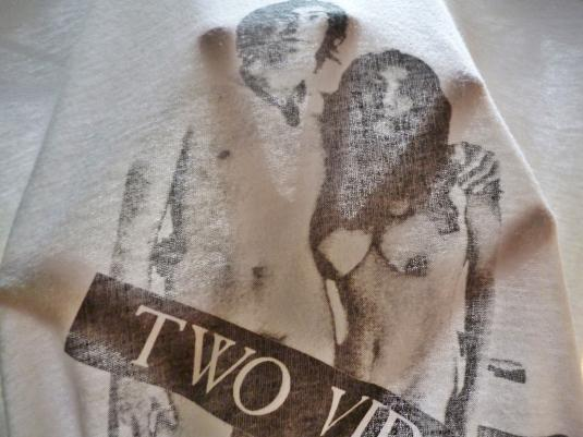 1980S JOHN LENNON YOKO ONO TWO VIRGINS T-SHIRT