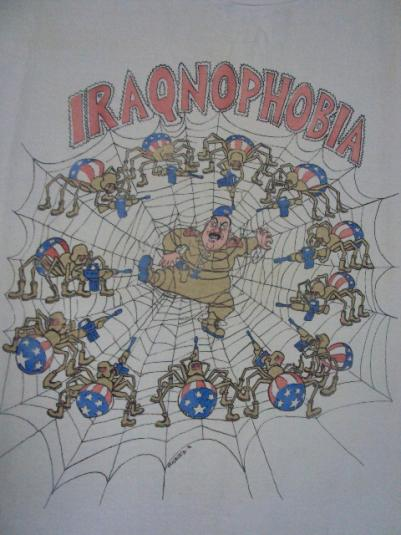 VINTAGE 1990 SADDAM HUSSEIN IRAQNOPHOBIA