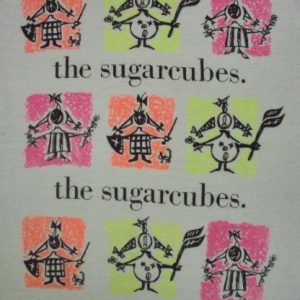 VINTAGE 80'S THE SUGARCUBES T-SHIRT
