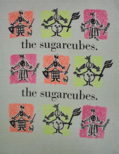 VINTAGE 80'S THE SUGARCUBES T-SHIRT