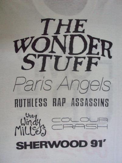VINTAGE 1991 THE WONDERSTUFF T-SHIRT
