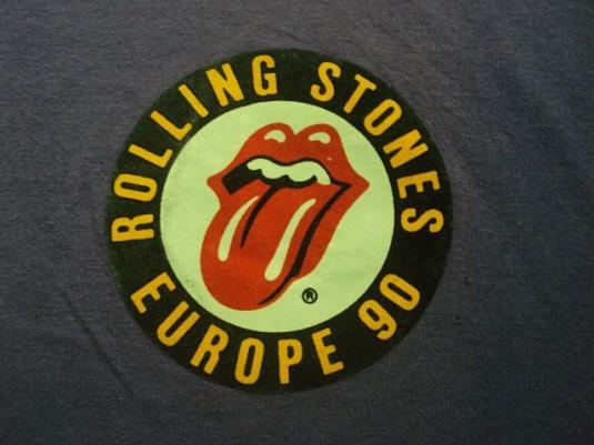 VINTAGE 1990 THE ROLLING STONES TOUR T-SHIRT