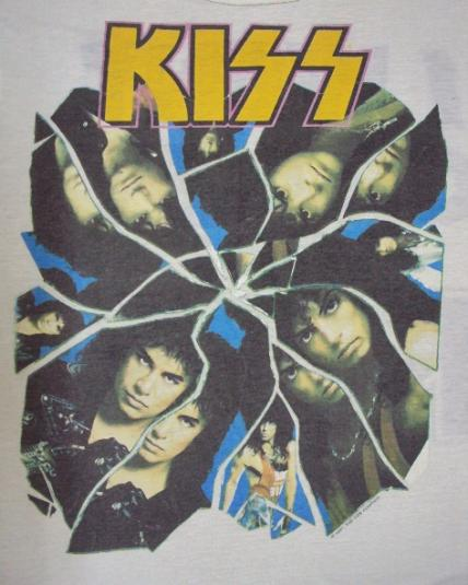 VINTAGE 1987 KISS T-SHIRT