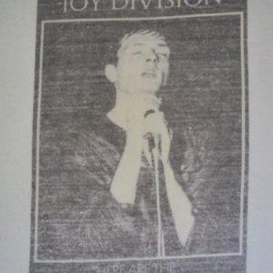 VINTAGE 1982 JOY DIVISION T-SHIRT
