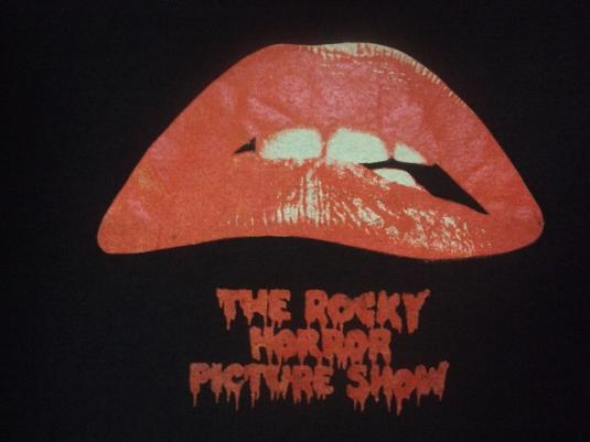 VINTAGE 80'S THE ROCKY HORROR PICTURE SHOW T-SHIRT