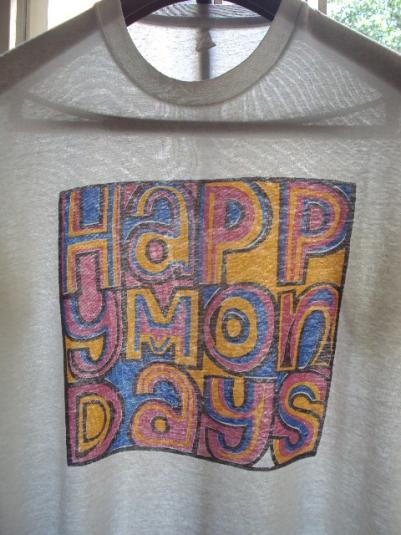 VINTAGE 1988 HAPPY MONDAYS T-SHIRT