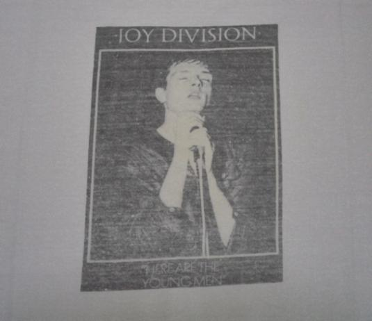 ULTRA RARE VINTAGE 1982 JOY DIVISION T-SHIRT