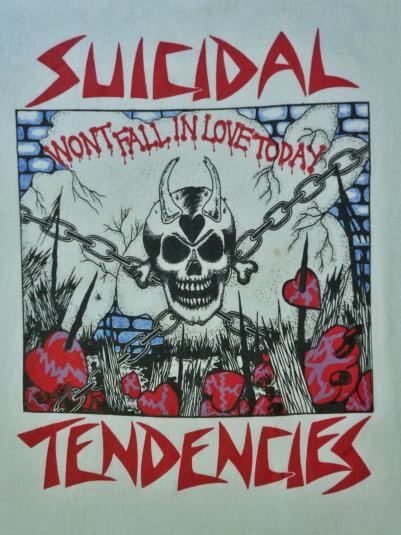 VINTAGE 1993 SUICIDAL TENDENCIES T-SHIRT