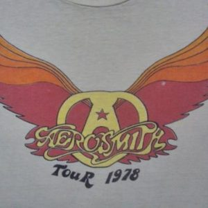 VINTAGE 1978 AEROSMITH T-SHIRT