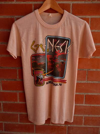 Vintage 1978 GENESIS World Tour T-Shirt