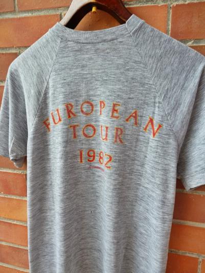 VINTAGE 1982 ROXY MUSIC AVALON TOUR T-SHIRT