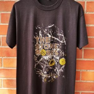VINTAGE 1989 THE STONE ROSES DEBUT ALBUM T-SHIRT